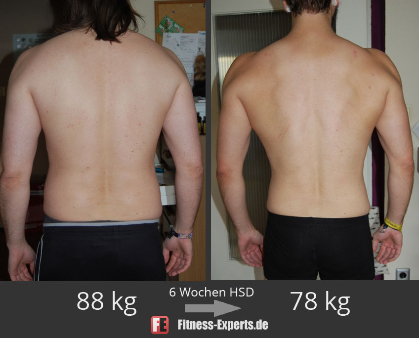Andre: -10 kg in 6 Wochen, ohne Hunger